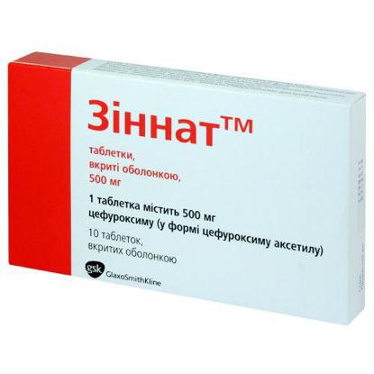 Фото Зиннат таблетки 500 мг №10