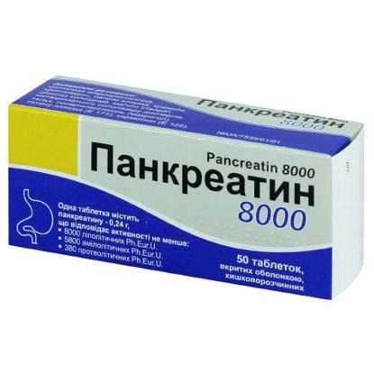 Фото Панкреатин таблетки 0.24г №50