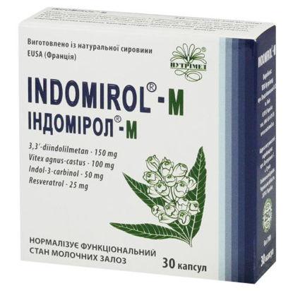 """Фото """"Индомирол-М"""" капсулы 360 мг №30"""