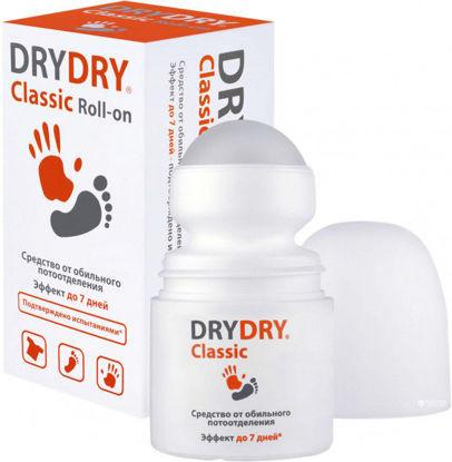 Фото Дезодорант для тела Dry Dry Classic Roll-on (Драй Драй Класик Ролл-Он) роликовый 35 мл