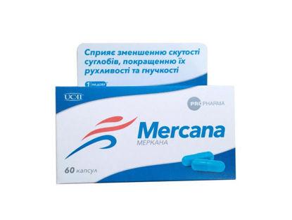 Фото Меркана капсулы 330 мг №60